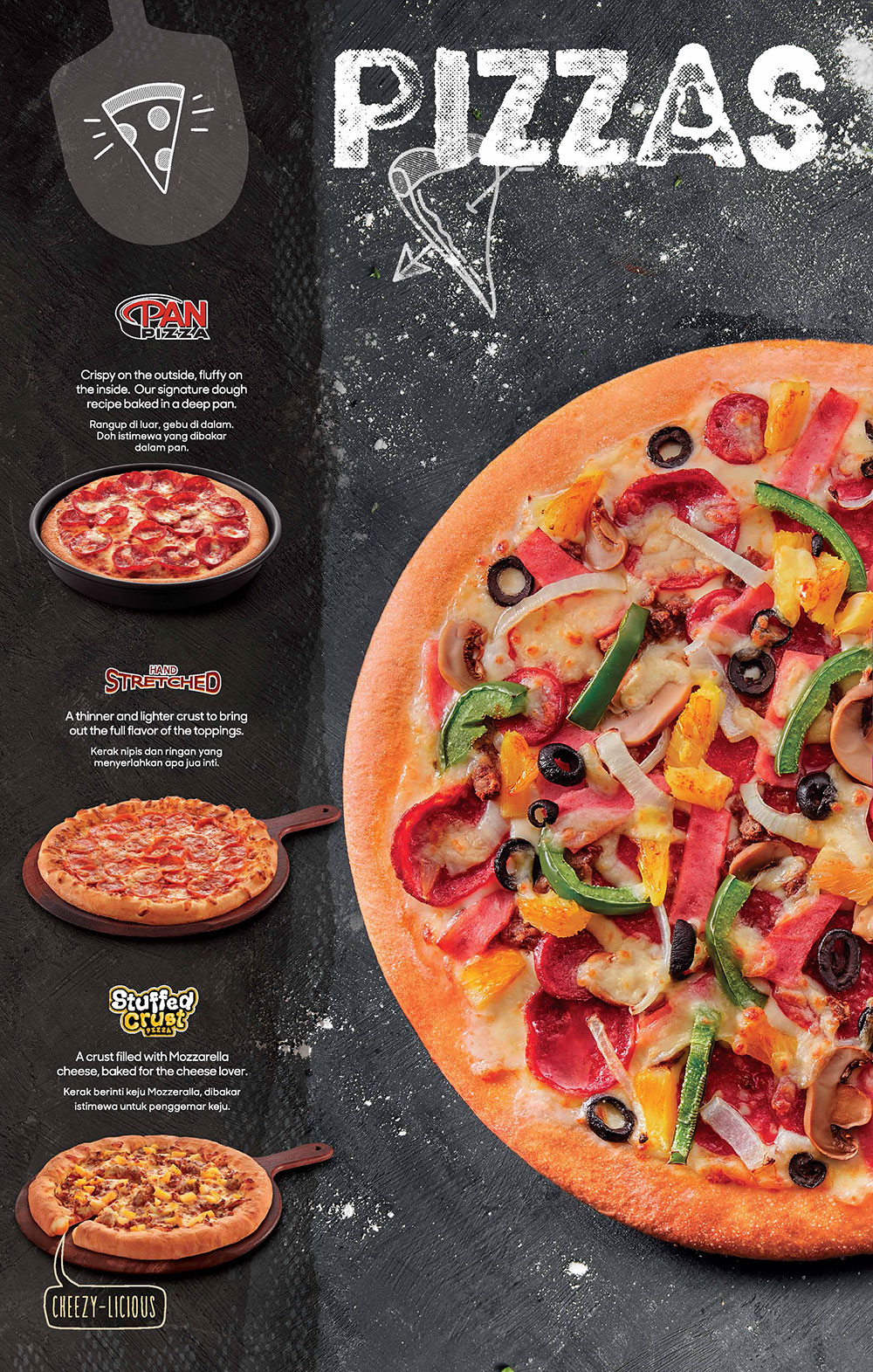 pizza hut malaysia hot oven fresh pizzas delivered to your door. Black Bedroom Furniture Sets. Home Design Ideas